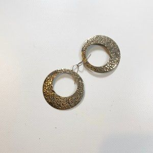 Earrings   Gold Color Round